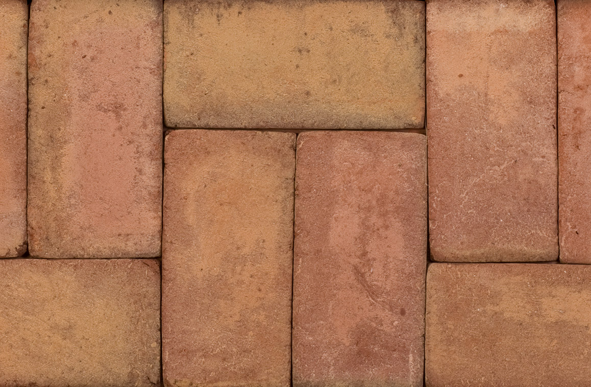 Rose Full Range 4x8 Brick Pavers King Masonry Yard Ltd